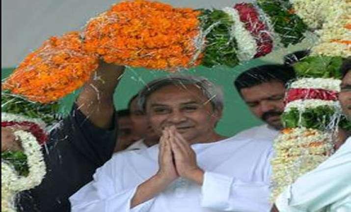 naveen patnaik holds rally in delhi demands special status