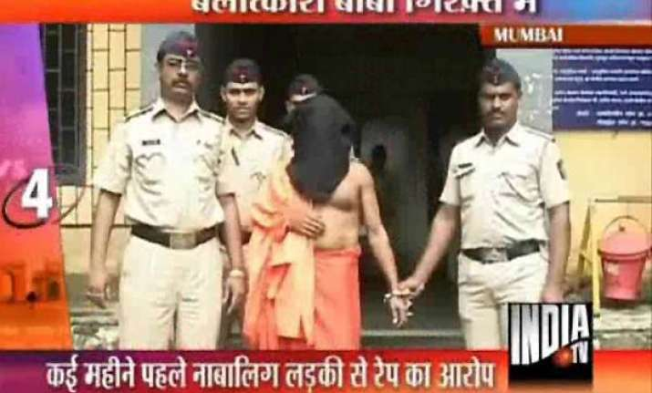 navi mumbai temple priest arrested for rape