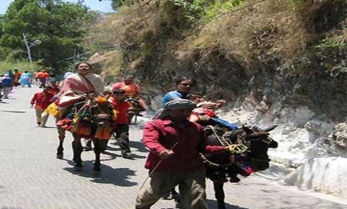 navratra to commence at mata vaishno devi shrine from