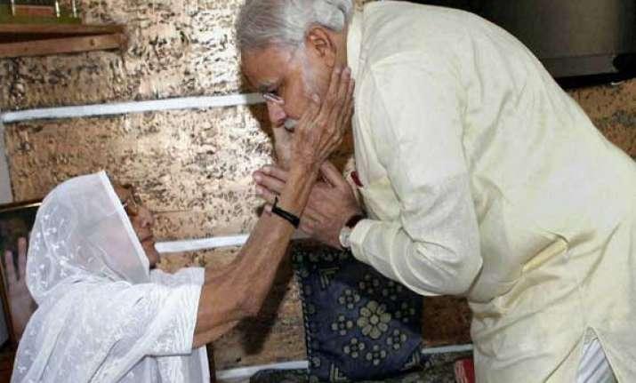 nawaz sharif s mother got emotional seeing narendra modi s