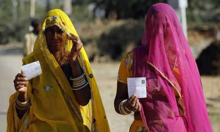 nearly a third of rajasthan votes by noon