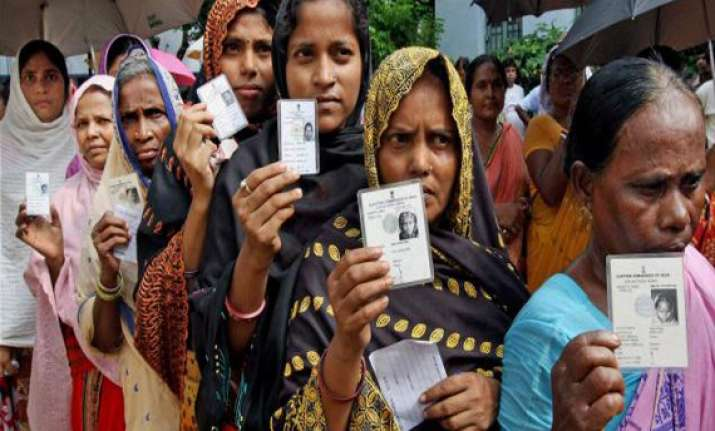 nearly 79 per cent poll recorded in bengal s first phase