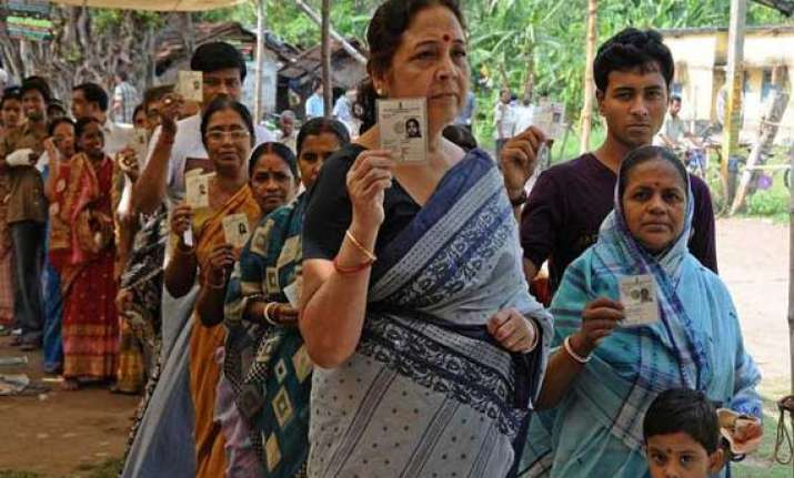 nearly 82 per cent polling recorded in west bengal