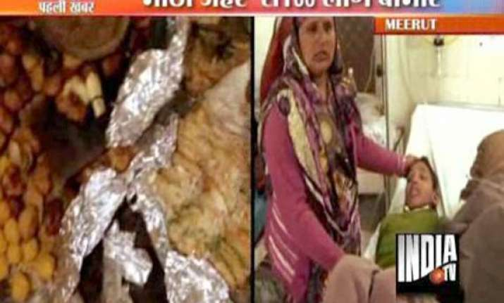 nearly 100 people suffer food poisoning in meerut wedding