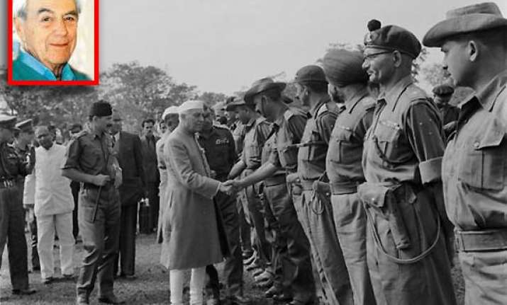 nehru declared 1962 war claims australian journalist