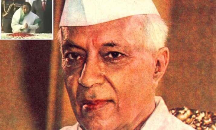 nehru remembered on 122nd birth anniversary