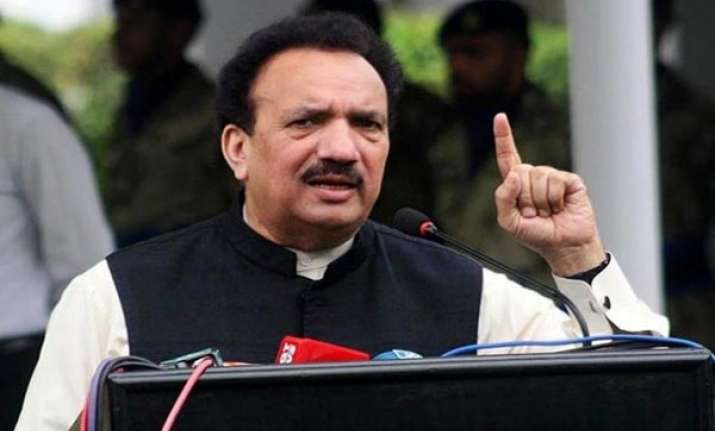 never compared babri with terror acts rehman malik