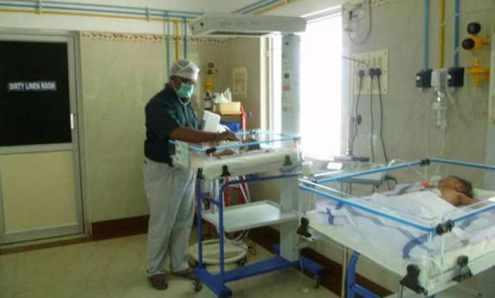 new born dumped in dustbin rescued hospitalised