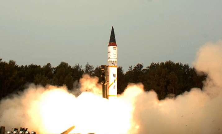 night trial of nuke capable agni i missile successful