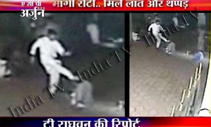 nithyananda s disciples thrash an old man at madurai ashram