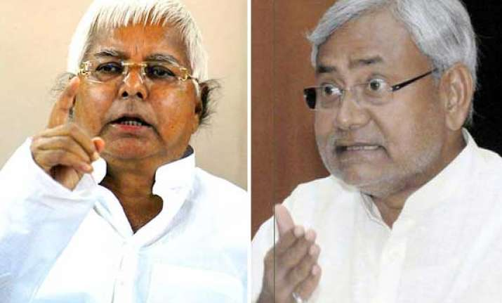 nitish to become lalu s neighbour