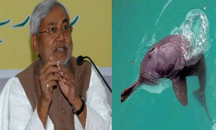 nitish wants to set up dolphin research centre in bihar