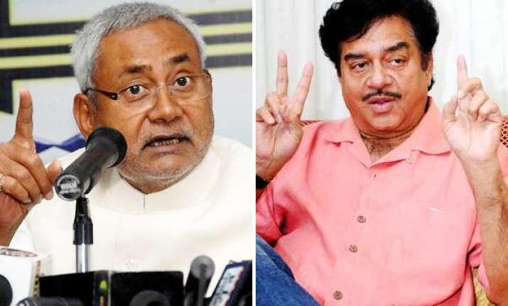 nitish kumar says trivedi was only speaking in future tense