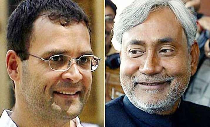 nitish says rahul is natural choice