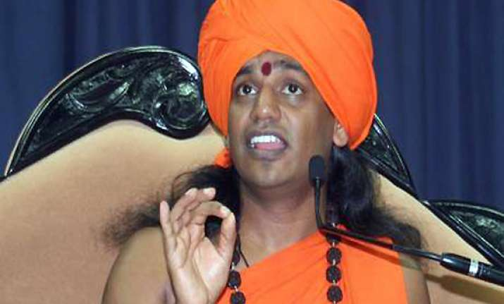 nithyananda re arrested sent to one day judicial custody