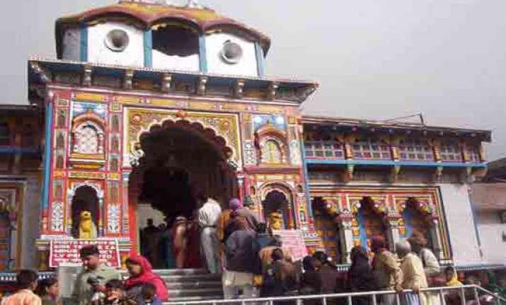 no kedarnath badrinath pilgrimage for three years