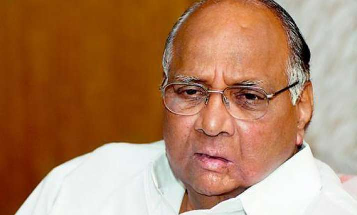 no pm candidate ever sought votes for himself sharad pawar