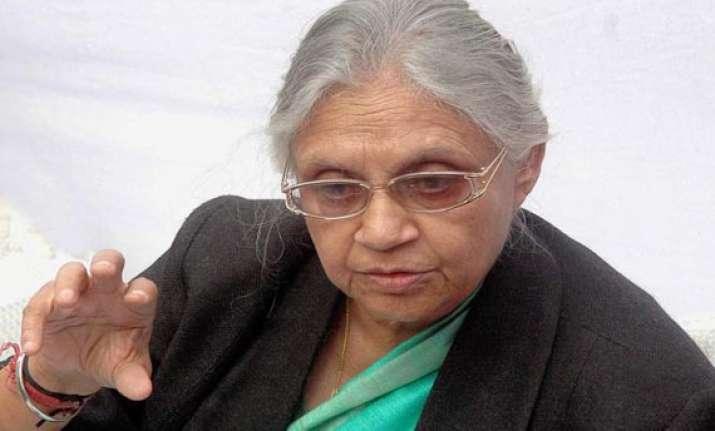 no corruption in delhi government sheila dikshit