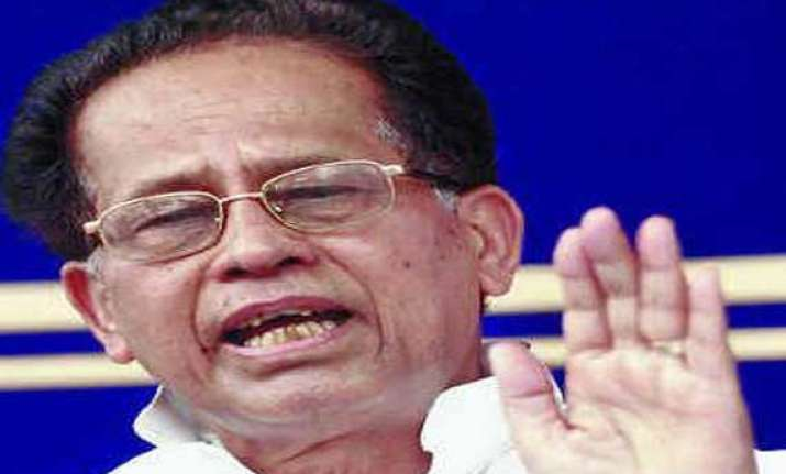 no firearms to be given to violence hit people gogoi