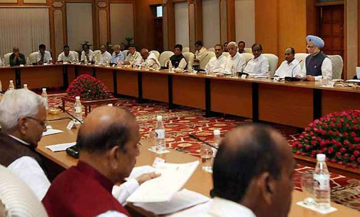 no consensus at all party meet on lokpal