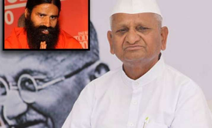 no difference with anna hazare says ramdev
