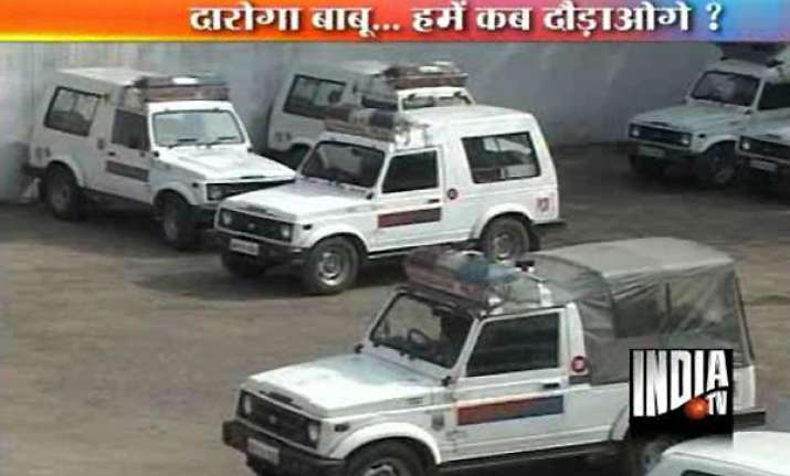 no money for fuel 49 chandigarh police gypsies lying idle