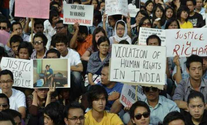 northeast students hold protest over student s death meet
