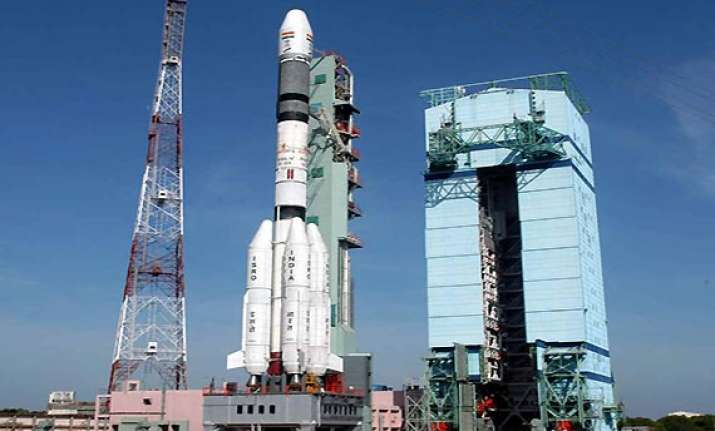 not engaged in space race with china isro