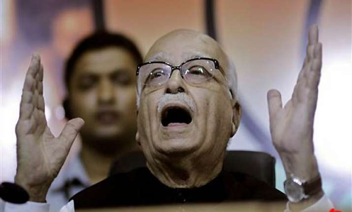 not in race for pm post advani