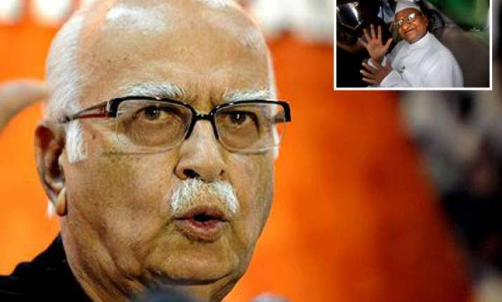 not surprised at hazare s detention advani