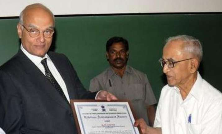 nuclear scientist n srinivasan passes away