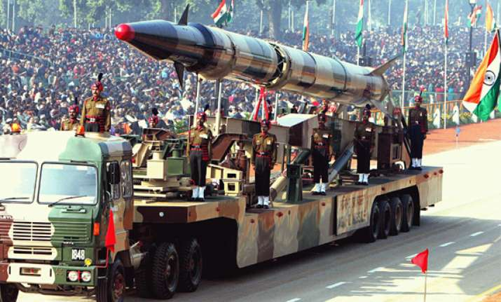 nuclear capable agni ii to be tested on monday