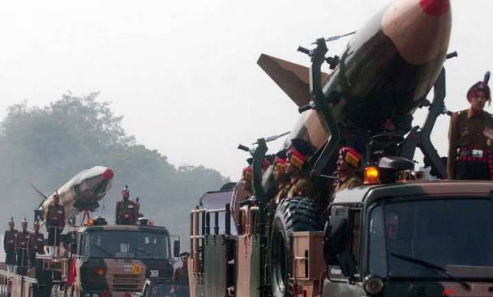 nuclear capable prithvi ii missile test fired