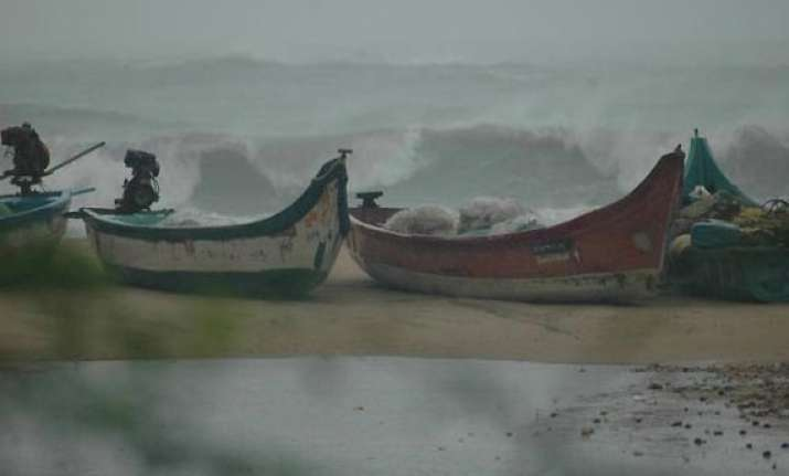 odisha alerts fishermen over rough seas