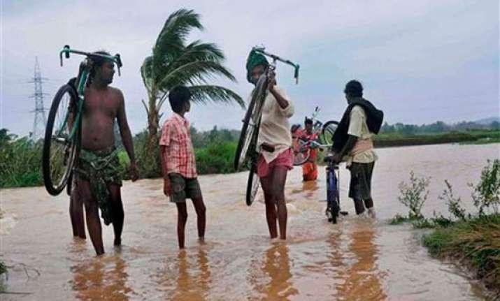 odisha flood affects 2 lakh people 4 killed 1 missing src