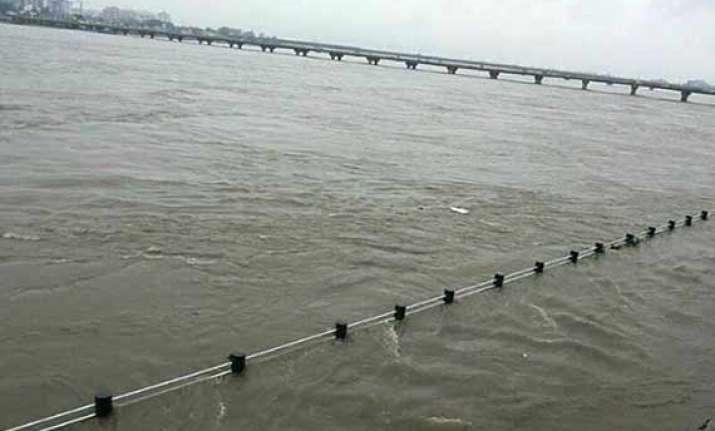 odisha rivers flowing close to danger levels