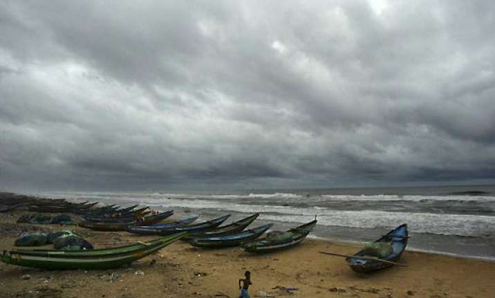 odisha sounds cyclone alert informs mha to keep choppers