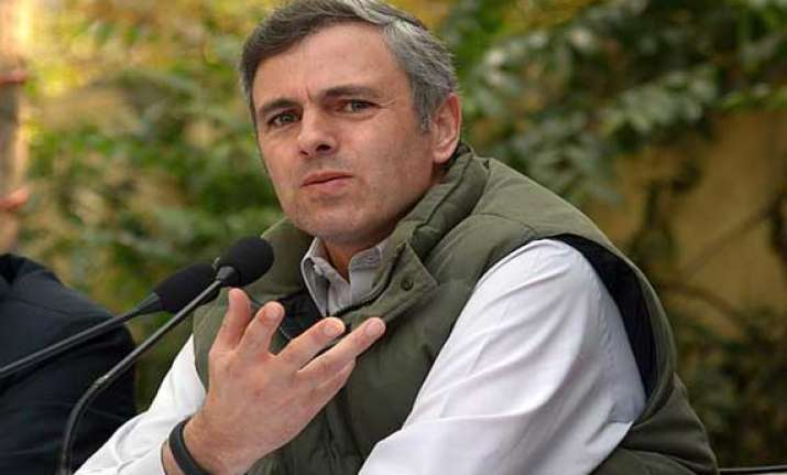 omar hits at centre over allotment of iit only to jammu