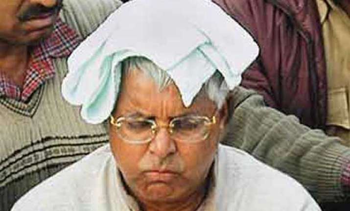 on baba s advice lalu filling up pond at his residence to