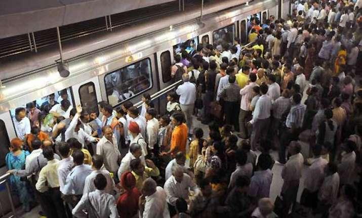 on raksha bandhan day delhi metro ridership crossed 20 lakh