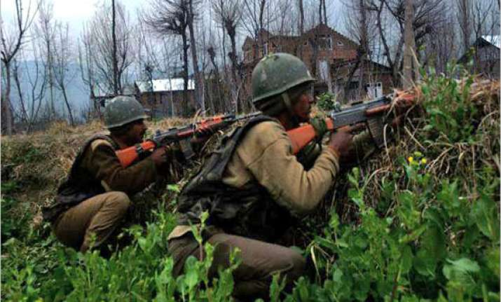 one militant killed in encounter with security officials in