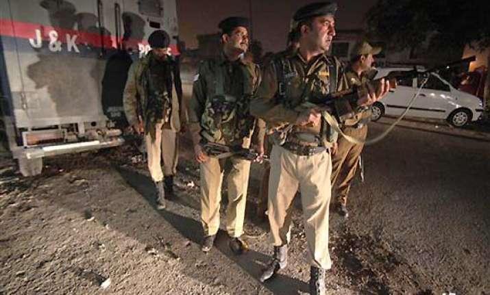 one killed five injured in jammu blast