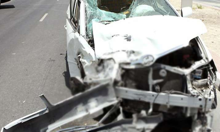 one killed 3 hurt in mishap involving mp govt official s car