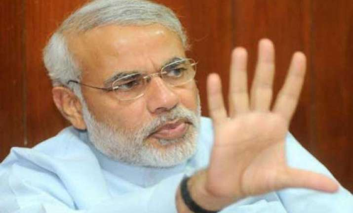 only nda can bring about change in india modi in his blog