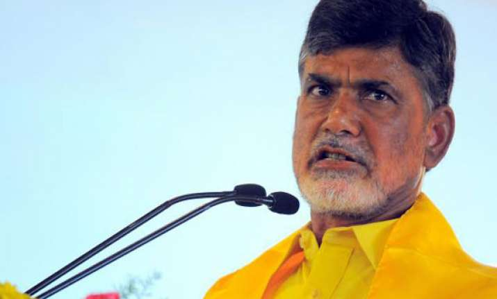 only tdp holds mandate to build a new telangana claims naidu