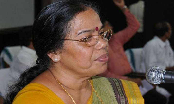 only one woman candidate makes it ls from kerala