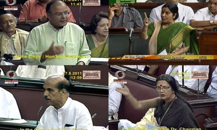 opposition slams centre on anna s arrest