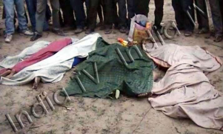 orissa after offering prayers man kills wife 6 children