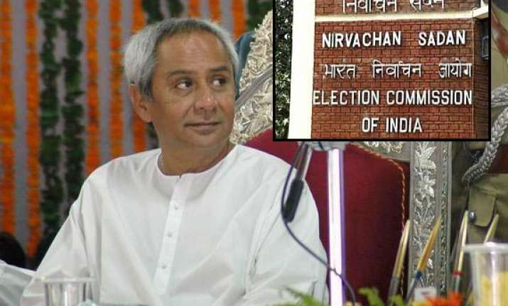 orissa cm refers horsetrading issue to ec