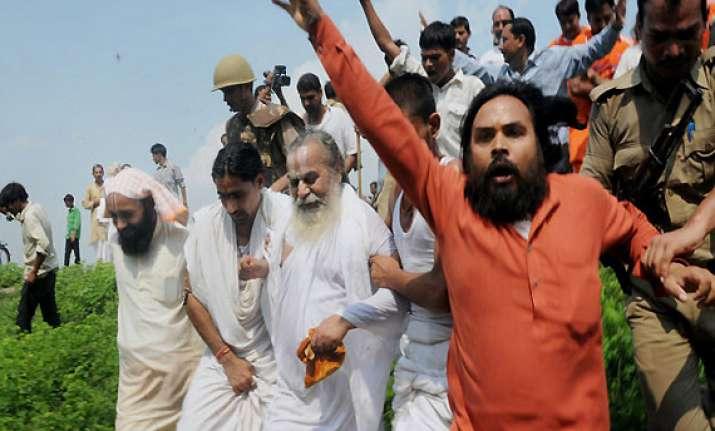 over 350 activists arrested on eve of vhp s sankalp diwas